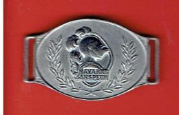 5e REGIMENT D INFANTERIE NAVARRE SANS PEUR VERS 1940 ELEMENT DE BRACELET D IDENTITE - Esercito