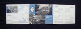 Pieghevole Turistico Golf Club San Remo Anni 30 Casino Municipale - Old Paper