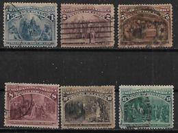1892 Usa Colon 1v. 8c. - Usati