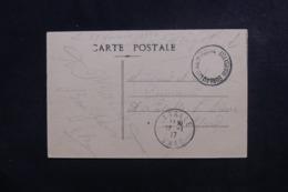 FRANCE - Oblitération Du Bureau Général Militaire Postal De Marseille Sur Carte Postale En 1917 - L 46609 - Marcophilie (Lettres)