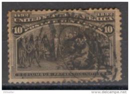 1892 Usa Colon 1v. 10c. - Usati
