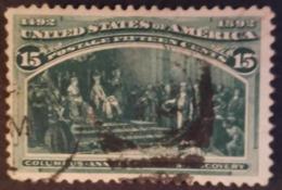 1892 Usa Colon 1v. 15c. - Usati