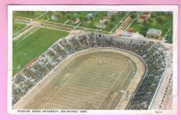 U.S.A. IOWA. CEDAR RAPIDS.   STADIUM, DRAKE UNIVERSITY, DES MOINES - Cedar Rapids