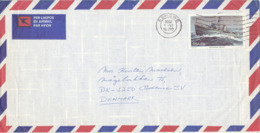 South Africa Air Mail Cover Sent To Denmark Esrowe 1-6-1982 - South Africa (...-1961)