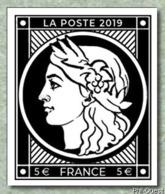 """France 2019 - Timbre Du Feuillet """"CÉRÈS 1849-2019 - Émission Spéciale"""" ** - Francia"""