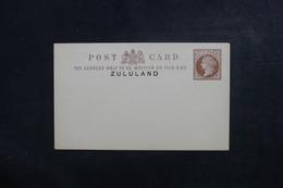 ZULULAND - Entier Postal Type Victoria Non Circulé - L 46612 - Zululand (1888-1902)