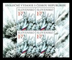 Slovakia 2019 Mih. 890 Velvet Revolution (M/S) (joint Issue Slovakia-Czech Republic) MNH ** - Slowakische Republik