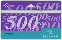 BELGIUM B-392 Hologram Belgacom - 509E - Used - Ohne Chip