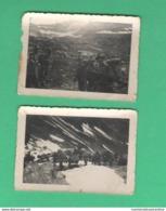 Alpini Muli Fronte Albania Lotto 2 Foto 1942 - Guerra, Militari