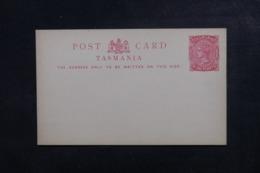 TASMANIE - Entier Postal Type Victoria Non Circulé - L 46615 - 1853-1912 Tasmania