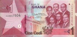 GHANA 1 CEDI 2019 UNC P 45 - Ghana