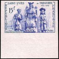 FRANCE   ** 1063 Essai En Outremer, Bdf: Saint Yves, Justice - Essais