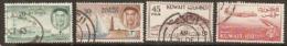 Kuwait   1961  Various Values   Fine Used - Kuwait