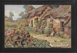 AK 0359  Walker , Clifford - Shakespeare' S Contry / Ann Hathaway' S Cottage - Oilette Künstlerkarte Ca. Um 1920 - Peintures & Tableaux