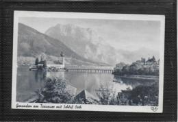 AK 0360  Gmunden Am Traunsee Mit Schloss Orth - Verlag Gründler Um 1949 - Gmunden
