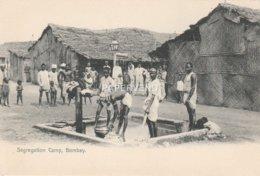 India  BOMBAY Plague Segregation Camp  Water Pump Id563 - India