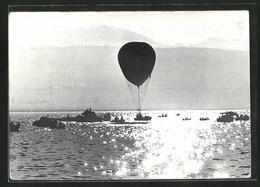 AK 1. Europameisterschaft Im Freiballonsport - 1939-1945: 2ème Guerre