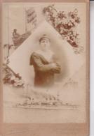 TOULON  /  MAGNIFIQUE PHOTO CARTONNEE  / MATELOT DU DIDEROT / SOUVENIR 1920.1921 / 11 X 17 / PHOTO JACOMIN - Regimientos