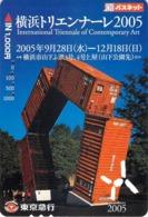 CULTURE - SCULPTURE  - ART MODERNE -  - Carte Prépayée Japon - Peinture