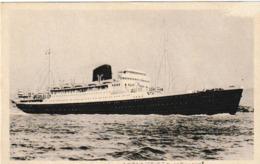 """Cie Des Messageries Maritimes Pl De L'Yser Dunkerque Le Paquebot """"CHAMPOLLION"""" - Steamers"""