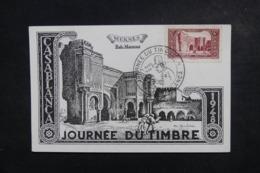 MAROC - Carte Maximum En 1948 - Meknès - L 46623 - Maroc (1891-1956)