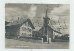 Vallorbe (Suisse, Vaud) : L'église Et La Cure Catholique En 1950 GF - VD Vaud