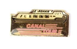 Pin's CANAL TOUR - Bateau Restaurant LE ROHAN - I682 - Transport