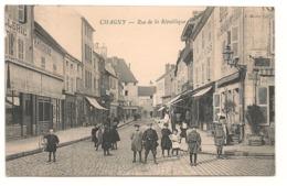 Chagny - Place De La Republique -   CPA° - Chagny