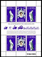 Gilbert Islands 1978 25th Anniversary Of Coronation Sheetlet Of 6, MNH, SG 68/70 (BP2) - Isole Gilbert Ed Ellice (...-1979)