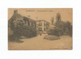 SOMBREFFE.  -  Demeure De M. A. Février (1919). - Sombreffe