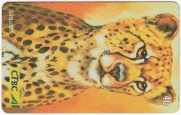 BRASIL K-017 Magnetic CTBC - Animal, Cat, Cheetah - Used - Brésil