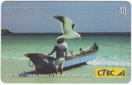 BRASIL K-032 Magnetic CTBC - Landscape, Coast - Used - Brésil