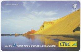 BRASIL K-039 Magnetic CTBC - Landscape, Coast - Used - Brésil