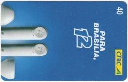 BRASIL K-050 Magnetic CTBC - Communication, Telephone - Used - Brésil