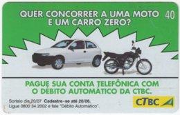 BRASIL K-079 Magnetic CTBC - Traffic, Car - Used - Brésil