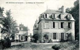 N°76524 -cpa Le Château De Thauvenay- - Autres Communes