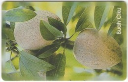 BRUNEI A-032 Chip Zippi - Plant, Fruit - Used - Brunei