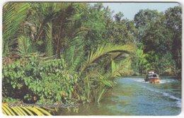 BRUNEI A-033 Chip Zippi - Landscape, River - Used - Brunei