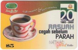 BRUNEI A-045 Prepaid Netkad - Drink, Coffee - Used - Brunei