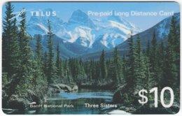 CANADA A-472 Prepaid Telus - Landcape, Mountains - Used - Canada