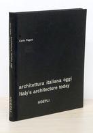 Carlo Pagani - Architettura Italiana Oggi - 1^ Ed. 1955 Hoepli - Livres, BD, Revues