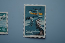 6-380 AAT Antarctic Plane Aviation Exploration South Pole Sud TAAF Gipsy Moth 1931 - Vols Polaires