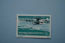 6-381 AAT Antarctic Plane Aviation Exploration South Pole Sud TAAF Christensents Avro Avian 1934 - Vols Polaires