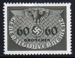 Poland German Occupation 1940 Single 60g Official Stamp. - General Government