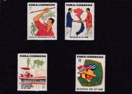 Cuba Nº 726 Al 729 - Cuba