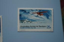 6-383 AAT Antarctic Plane Aviation Exploration South Pole Sud TAAF Wilkin's Lockheed Vega 1928 - Polare Flüge