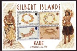 Gilbert Islands 1978 Christmas MS, MNH, SG 79 (BP2) - Îles Gilbert Et Ellice (...-1979)