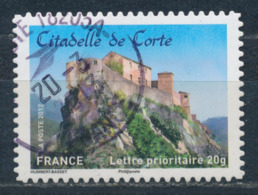 France - Châteaux Et Demeures (Corte) YT A720 Obl. Cachet Rond Manuel - Francia