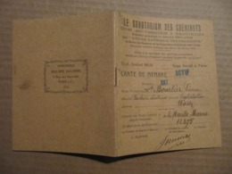 LIVRET - CHEMINS DE FER DE L'EST - LE SANATORIUM DES CHEMINOTS - Vieux Papiers