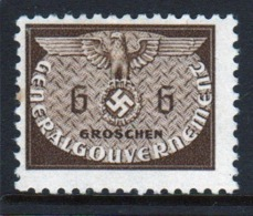 Poland German Occupation 1940 Single 6g Official Stamp. - General Government